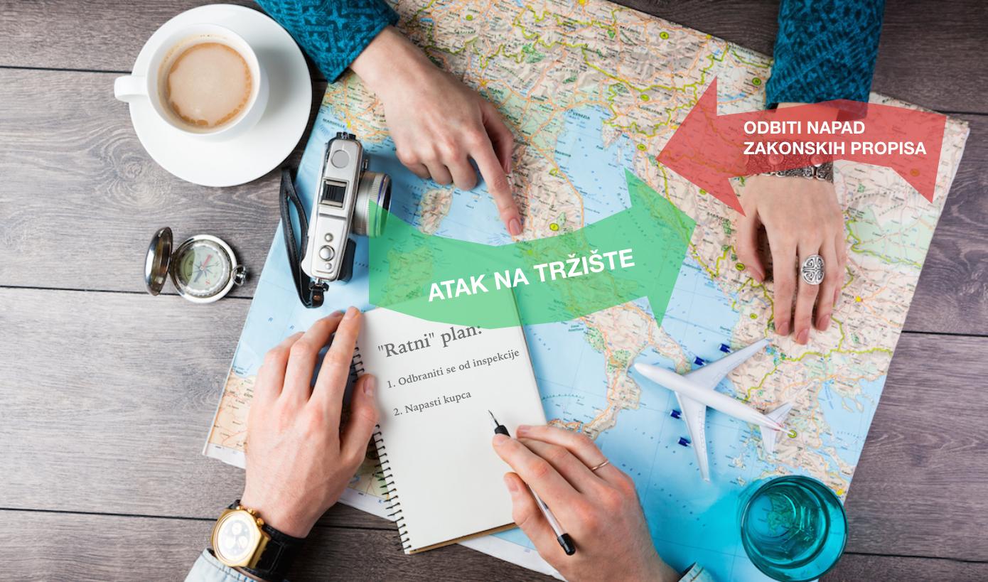 Dva ratna fronta turističkih agencija u Srbiji.